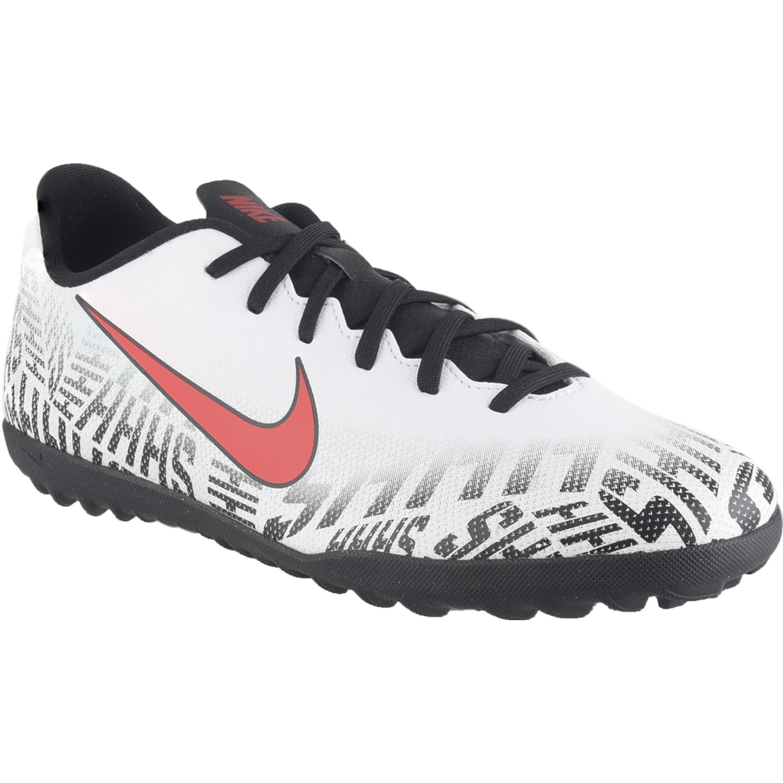 Nike vapor 12 club njr tf Blanco / negro Hombres