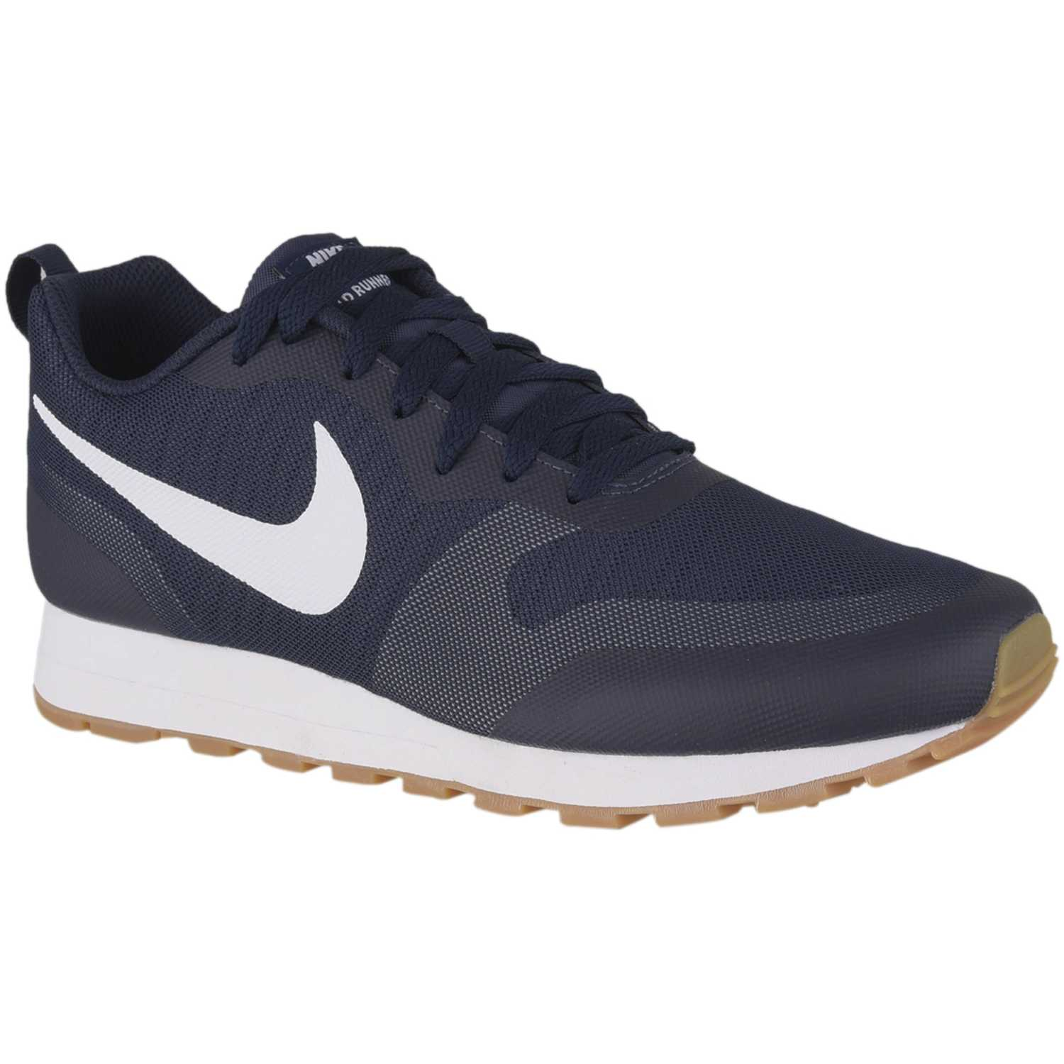 2019 Mujeres Zapatos Nike Md Runner 2 Negras Y Blancas