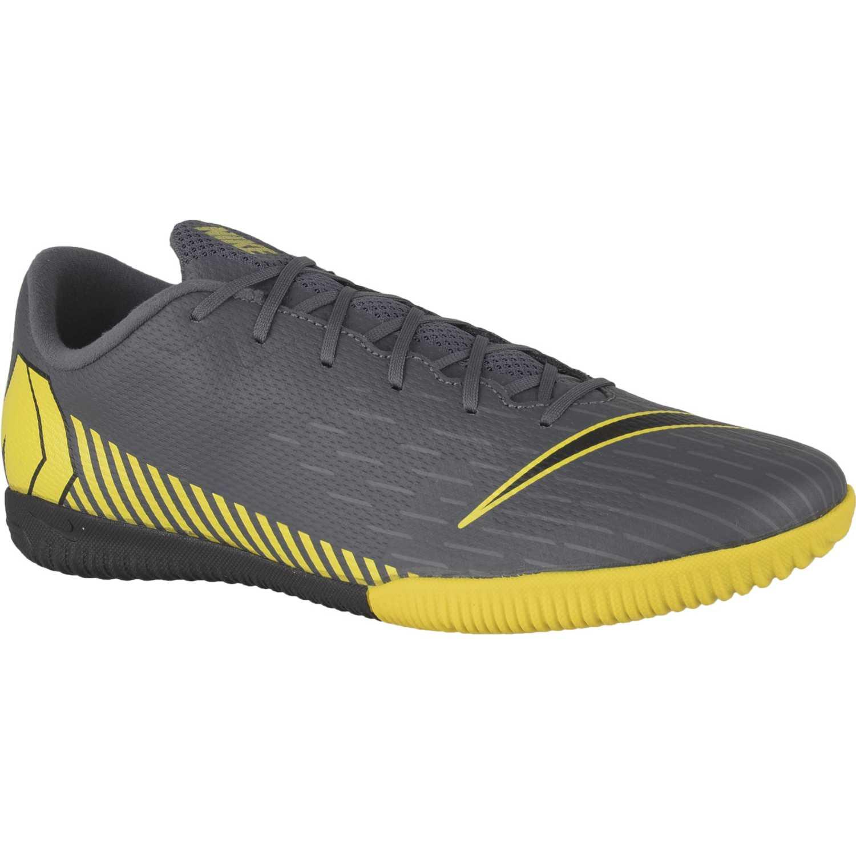 Nike vapor 12 academy ic Negro / amarillo Hombres