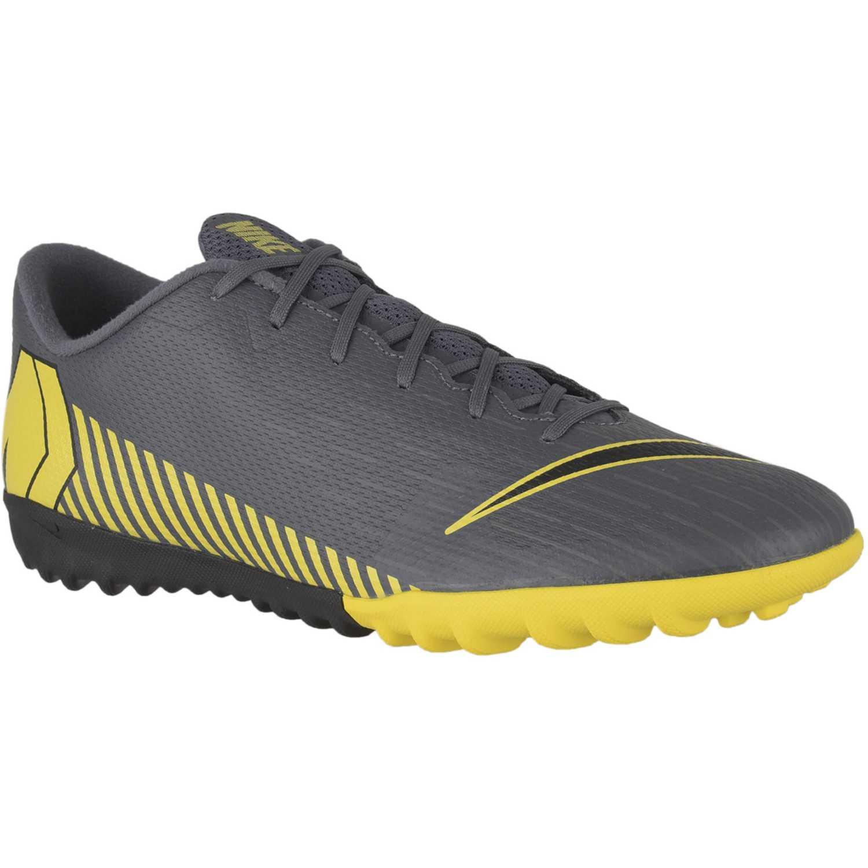 Nike vapor 12 academy tf Negro / amarillo Hombres