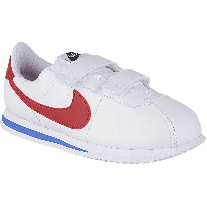 Deportivo de Niño Nike Blanco / rojo cortez basic sl bpv
