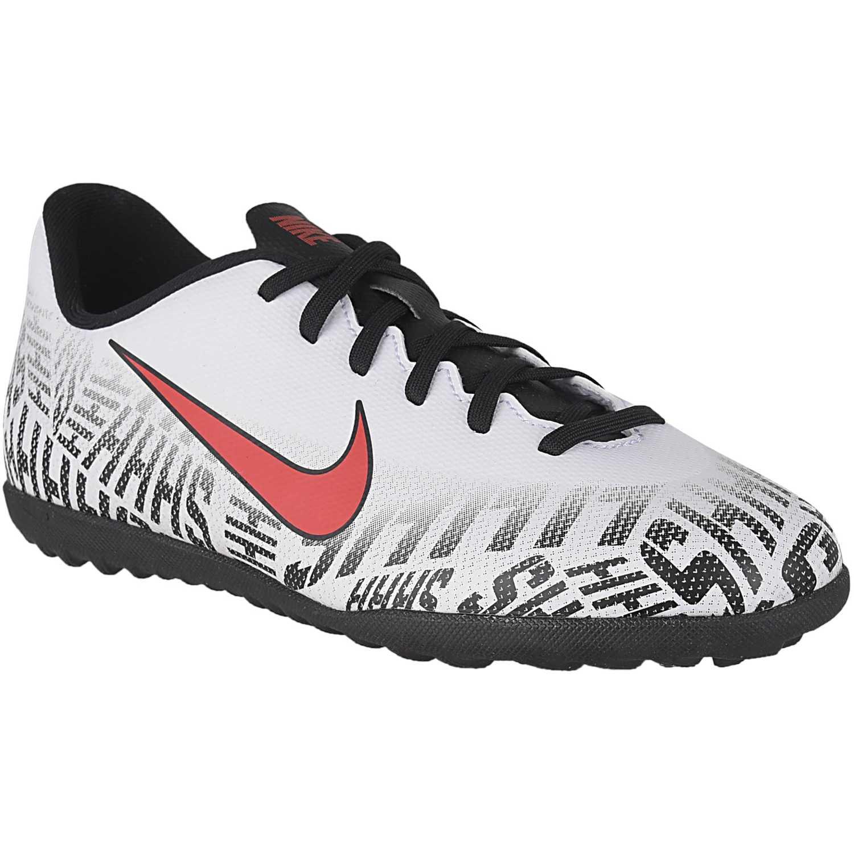 Deportivo de Jovencito Nike Blanco / negro jr vapor 12 club gs njr tf