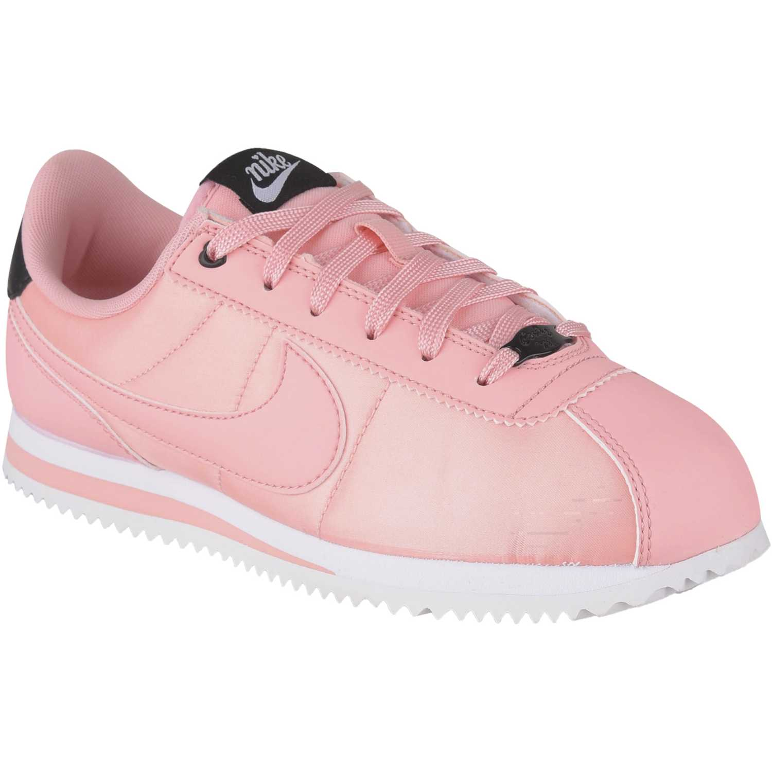 Nike cortez basic txt vday gg Coral / negro Fitness y Cross-Training