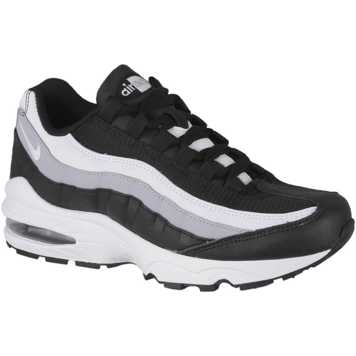 Nike air max 95 bg Blanco / negro Fitness y Cross-Training ...