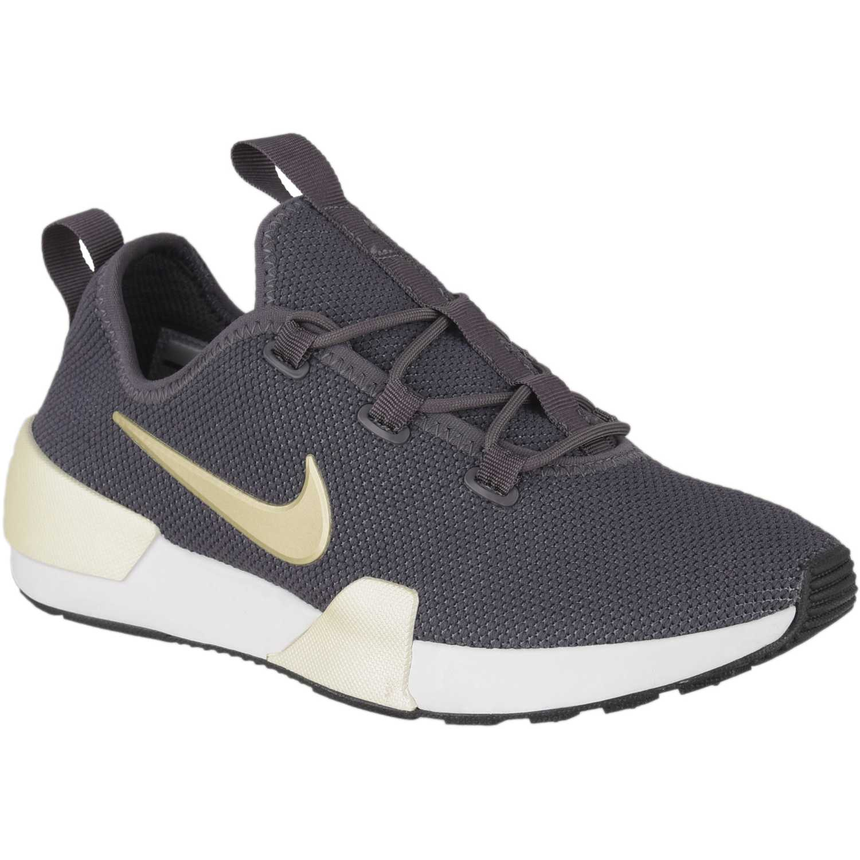 Nike w nike ashin modern prm Plomo/blanco Walking