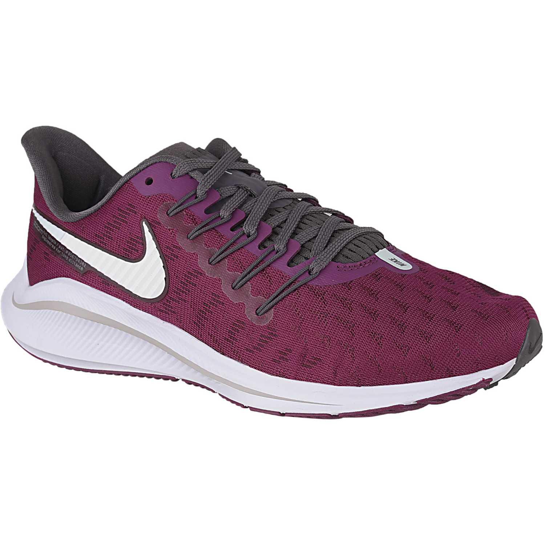Nike wmns nike air zoom vomero 14 Vino / blanco Running en pista