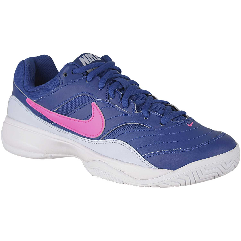Deportivo de Mujer Nike Azul / fucsia wmns nike court lite