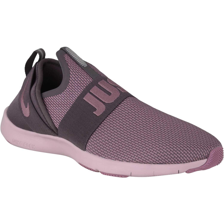 Nike w nike flex motion trainer Rosado / plomo Mujeres