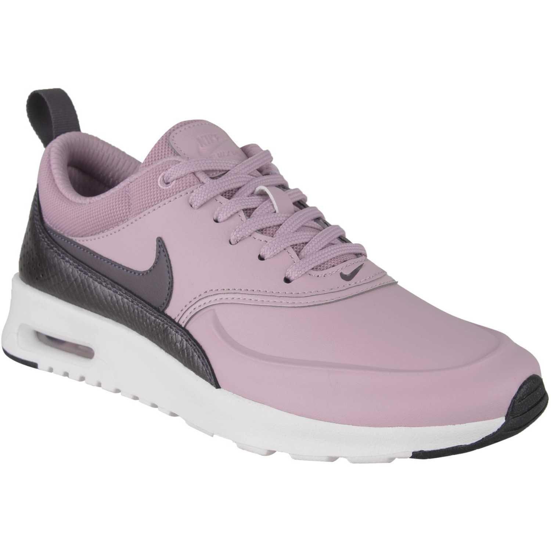 Nike w nike air max thea prm Rosado / plomo Walking
