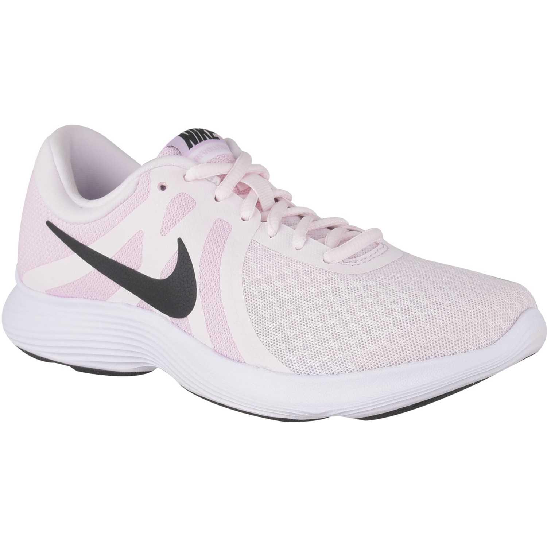 Nike wmns nike revolution 4 Rosado / blanco Running en pista