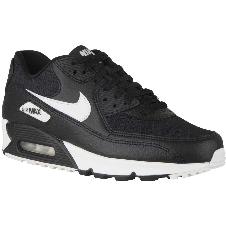 Zapatilla de Mujer Nike Negro / blanco w air max 90