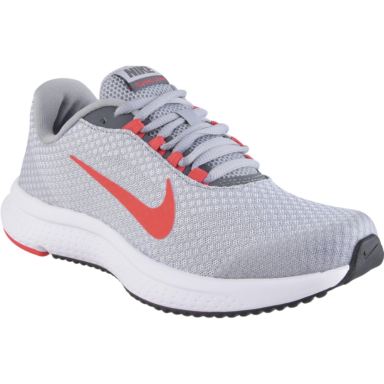 Nike wmns nike runallday Gris / naranja Running en pista