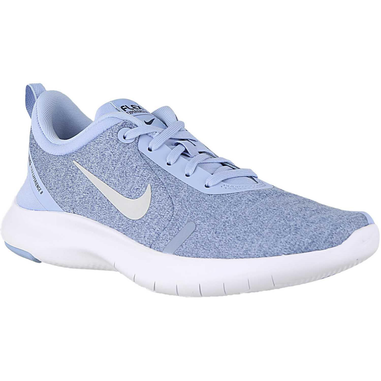 Nike wmns nike flex experience rn 8 Celeste blanco Running