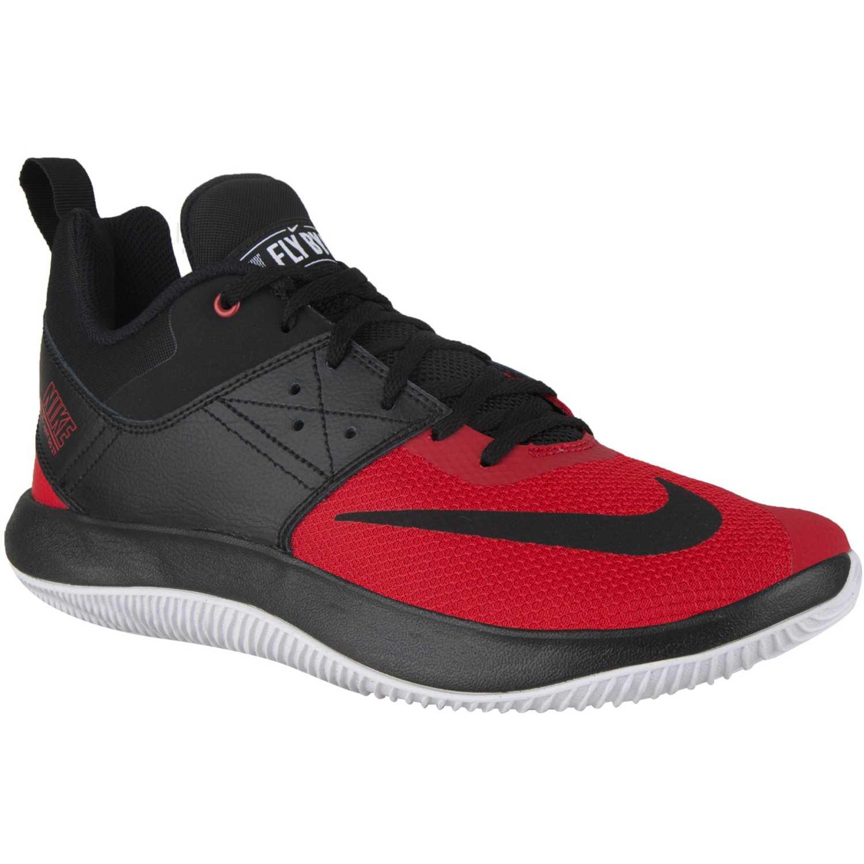 Basquet de Hombre Nike Negro / rojo nike fly.by low ii
