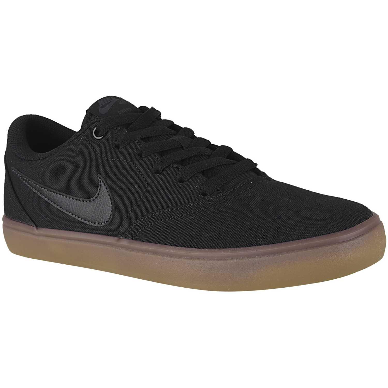Nike Nike Sb Check Solar Cnvs NEGRO / MOSTAZA Hombres