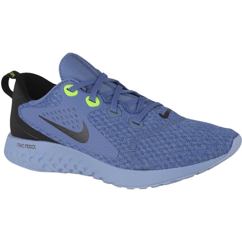 Nike nike legend react Azul negro Running en pista
