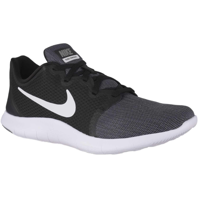 Zapatilla de Hombre Nike Negro / blanco nike flex contact 2