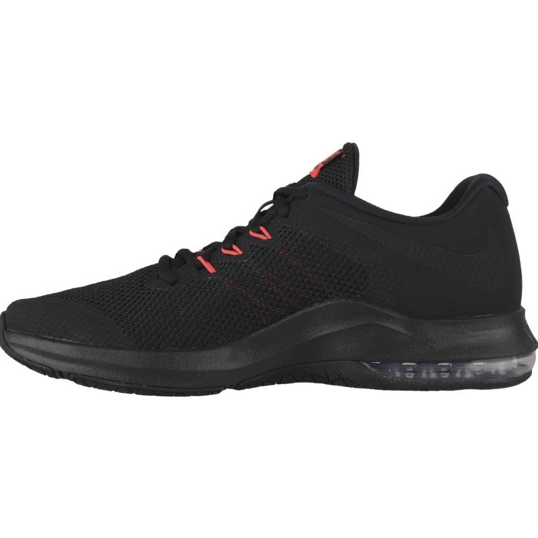 Zapatilla de Hombre Nike Negro / rojo nike air max alpha trainer