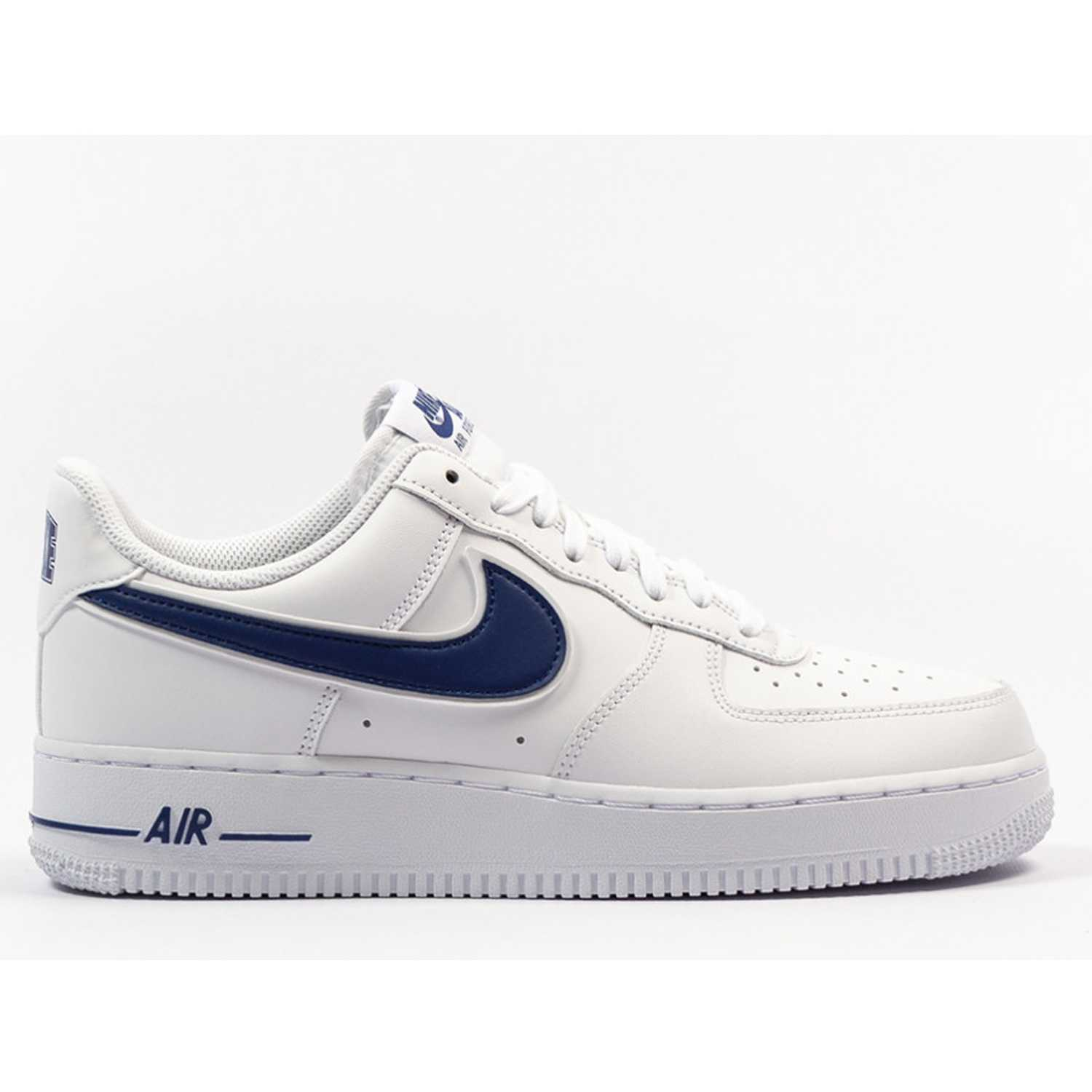 Nike air force 1 '07 3 Blanco / azul Walking | platanitos.com