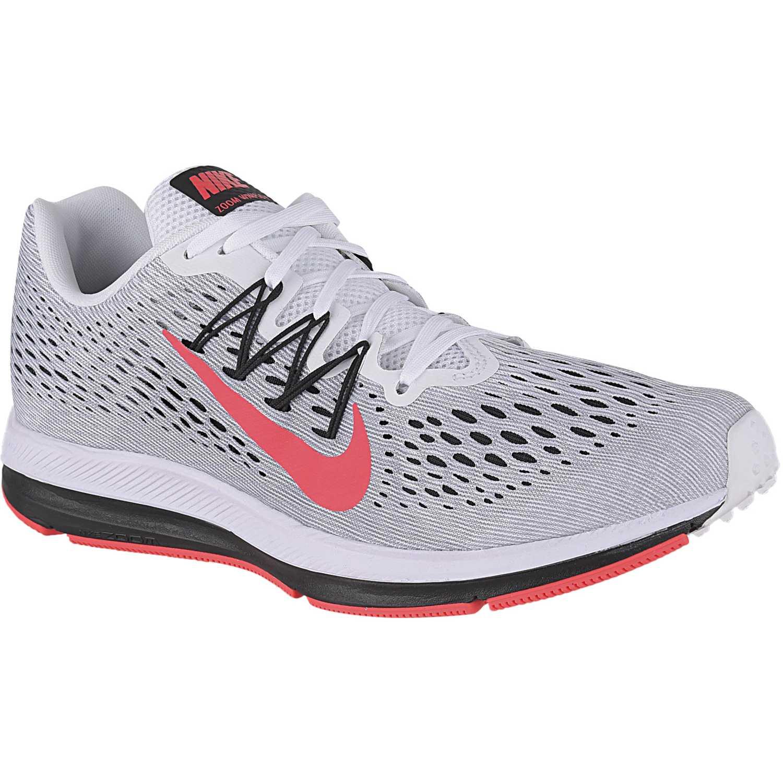 Zapatilla de Hombre Nike Gris / rojo nike zoom winflo 5