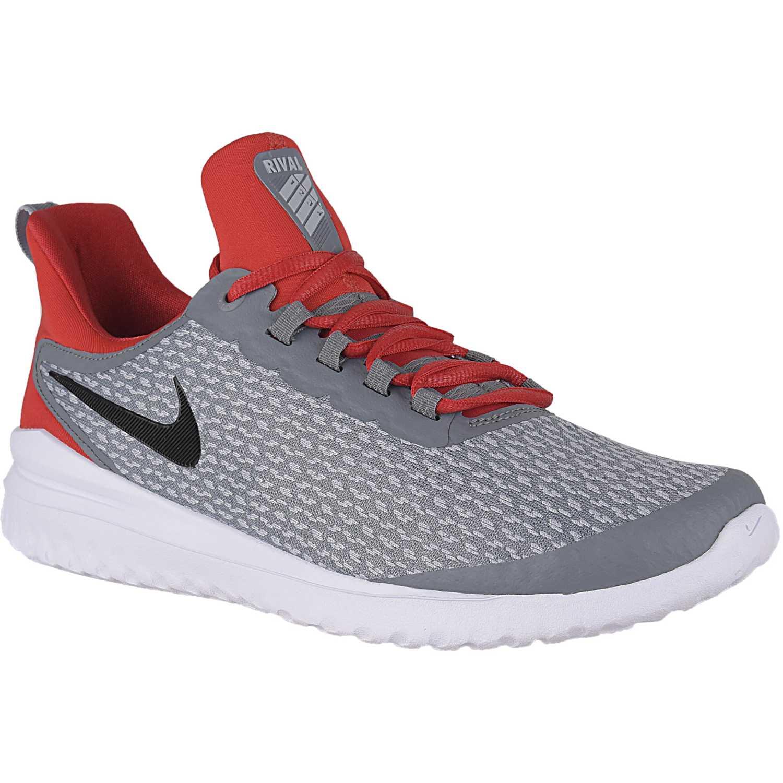 Nike Nike Renew Rival Gris / naranja Correr por carretera