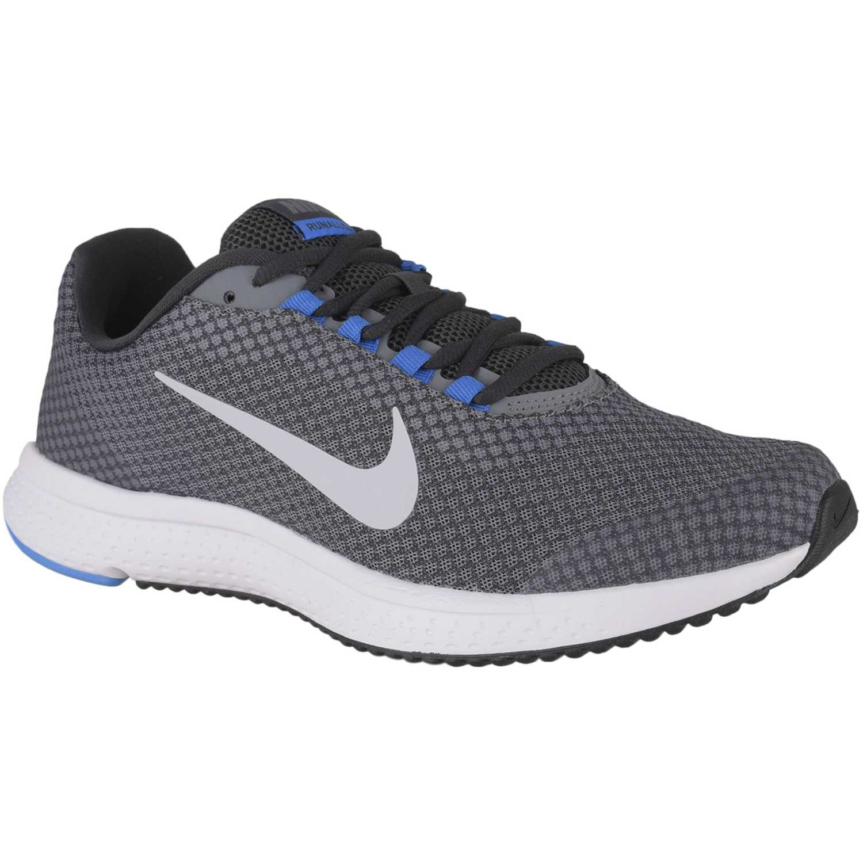 Nike nike runallday Plomo/blanco Running en pista