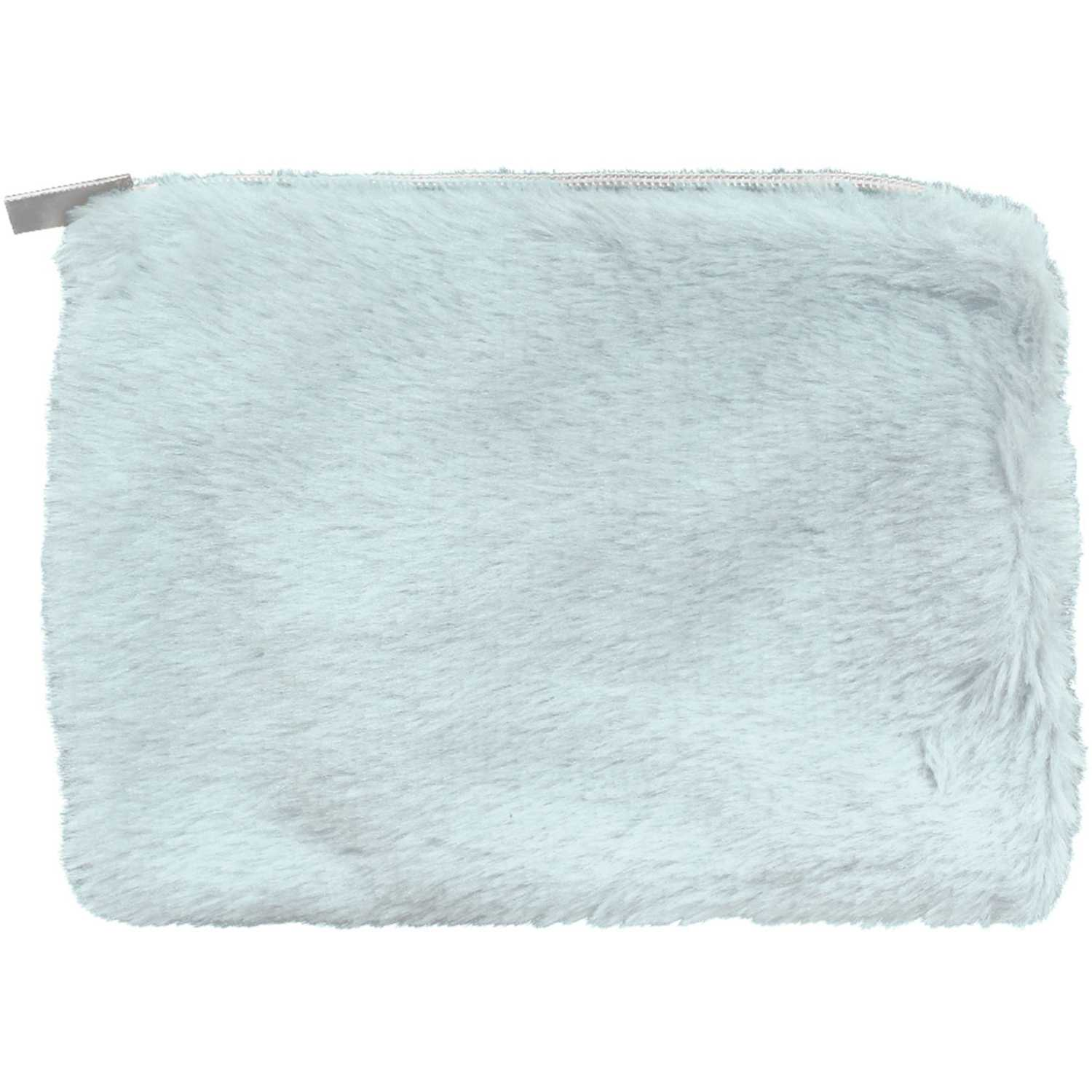 Sparks Beauty Furry Pouch Baby Blue Cosmetiqueras