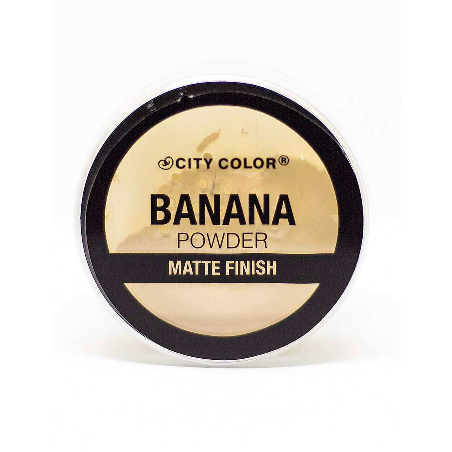 City Color loose banana powder Banana Correctores y neutralizadores