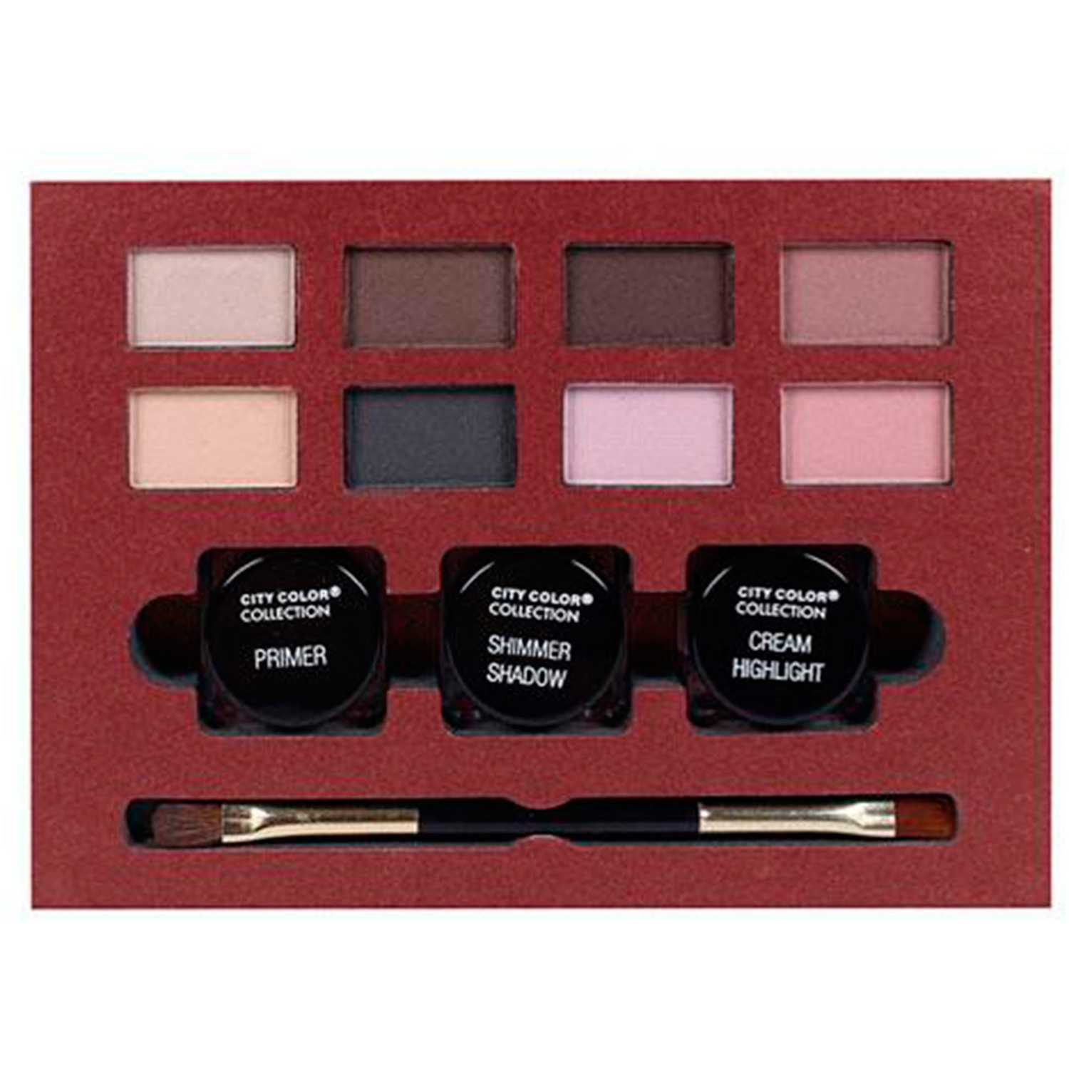 Paleta de sombras  City Color Varios all eyes on you makeup kit