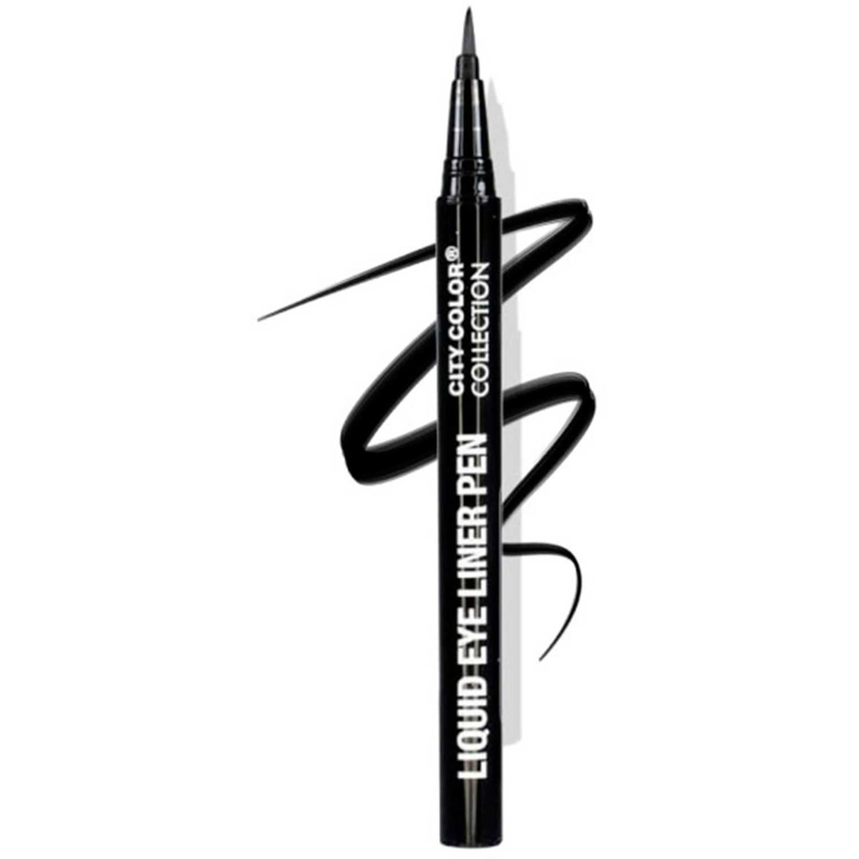 City Color liner pen Negro Delineador y Sombra Combinaciones