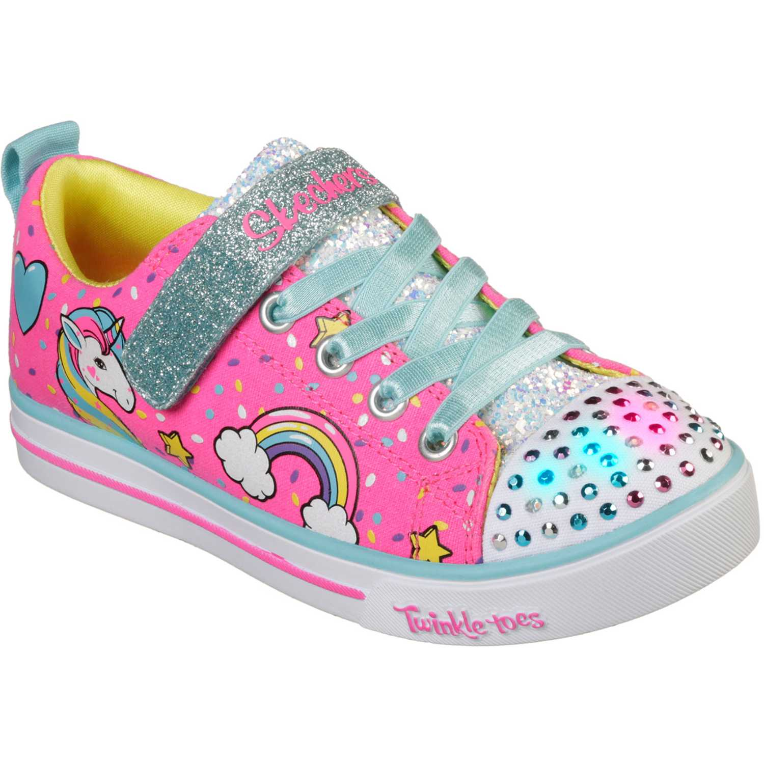 Skechers sparkle lite unicorn craze Rosado Walking