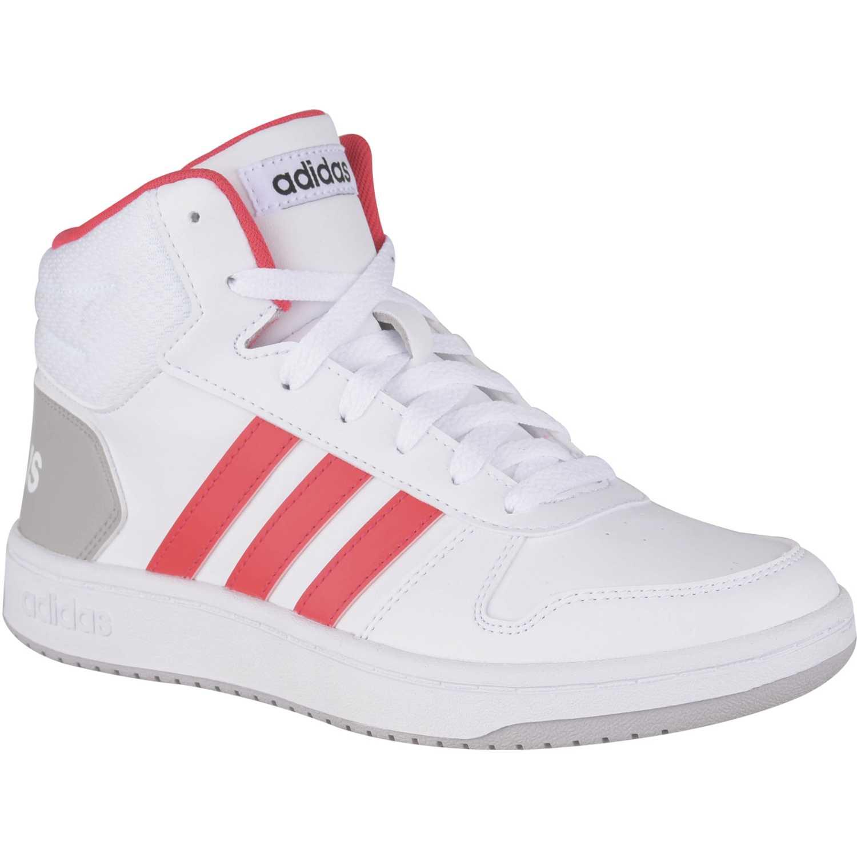 Adidas hoops mid 2.0 k Blanco Muchachos