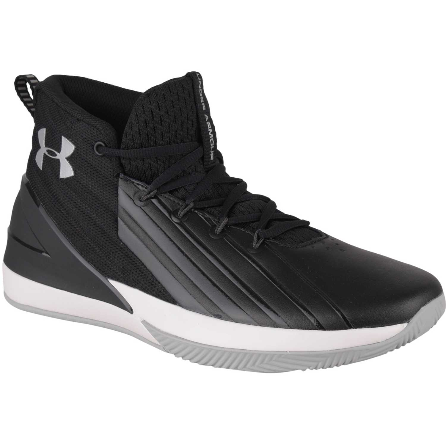 Under Armour Ua Lockdown 3 Negro / plomo Hombres