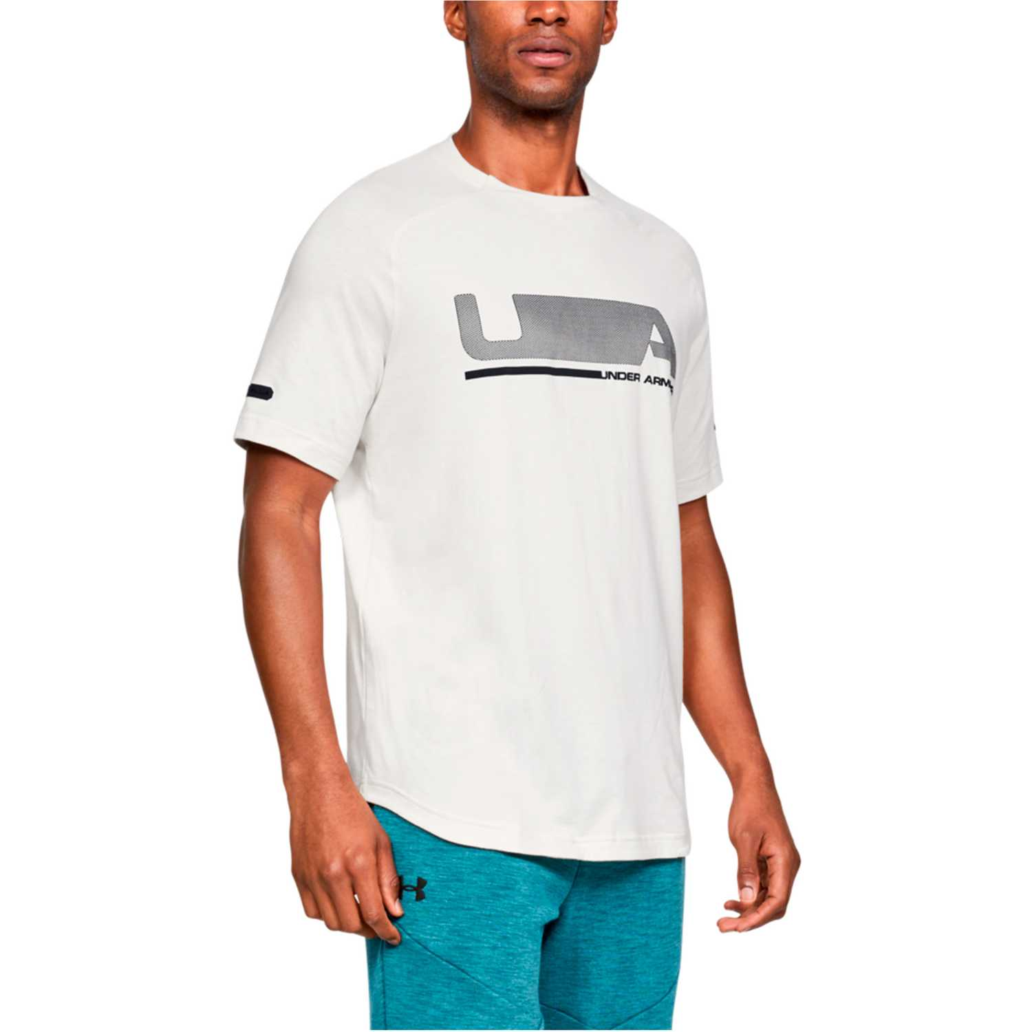 Under Armour Unstoppable Move Ss T Blanco / negro Camisetas y polos deportivos