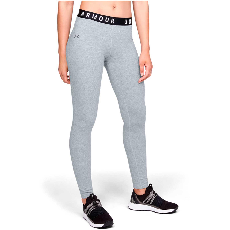Under Armour Favorite Legging-Gry Gris / negro Leggings deportivos