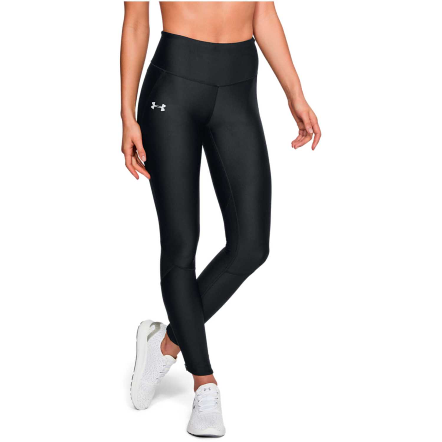 Under Armour armour fly fast tight-blk Negro Leggings Deportivos