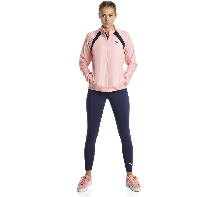 Buzos de Mujer Puma Rosado / azul yoga inspired suit