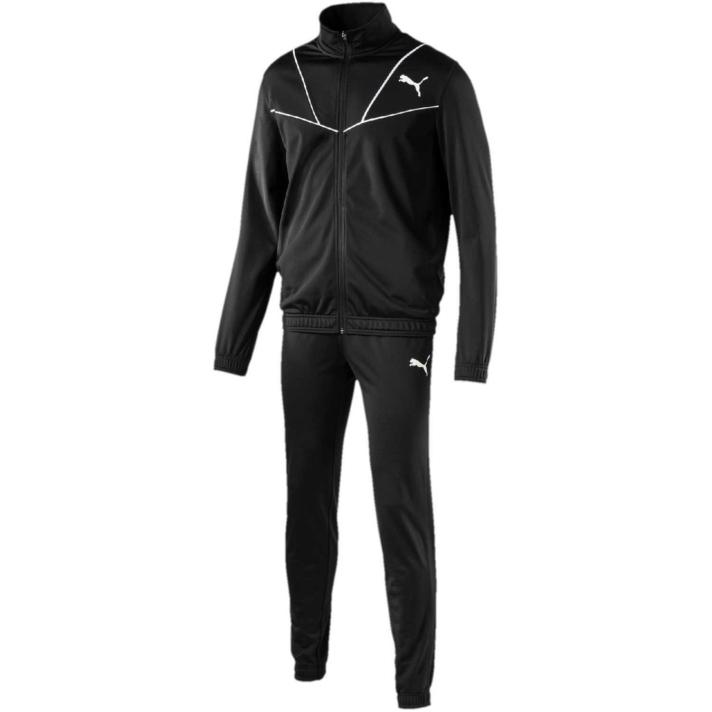 Puma sporty tricot suit cl Negro / blanco Buzos Deportivos