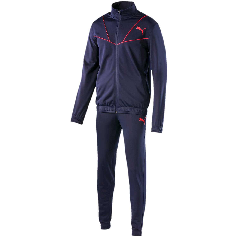 Buzos de Hombre Puma Azul / rojo sporty tricot suit cl