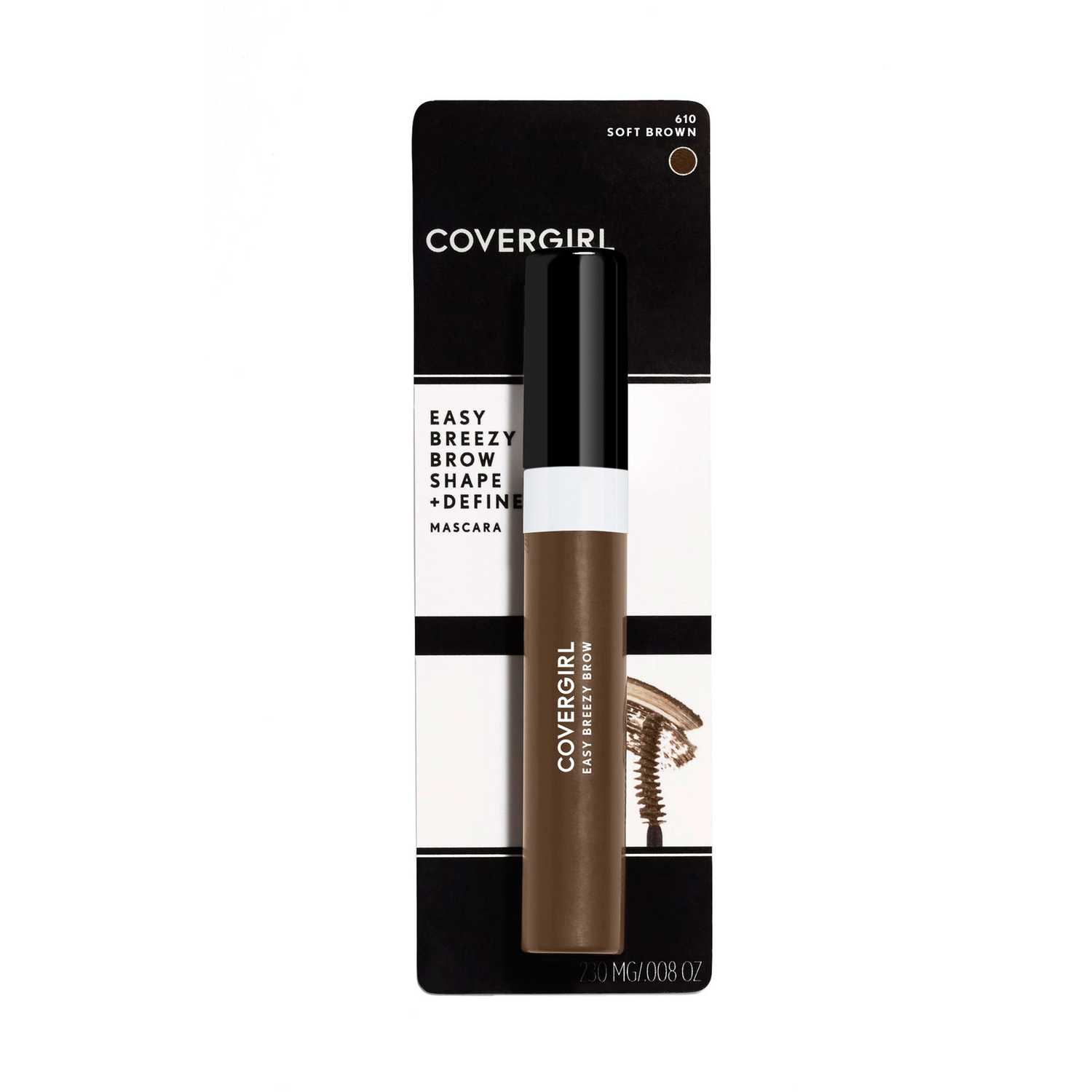 Covergirl brow shape&define brow mascara Soft Brown Juegos de maquillaje