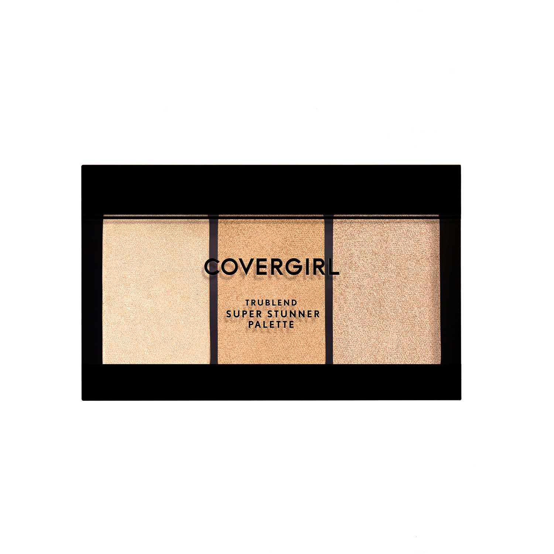 Covergirl trublend super stunner highlight palette Glowing Up Paletas de maquillaje