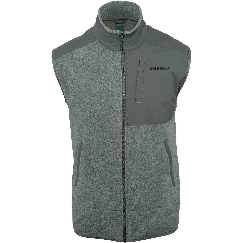 Merrell flux mw hybrid vest (polar fleece - solid) Plomo Chalecos