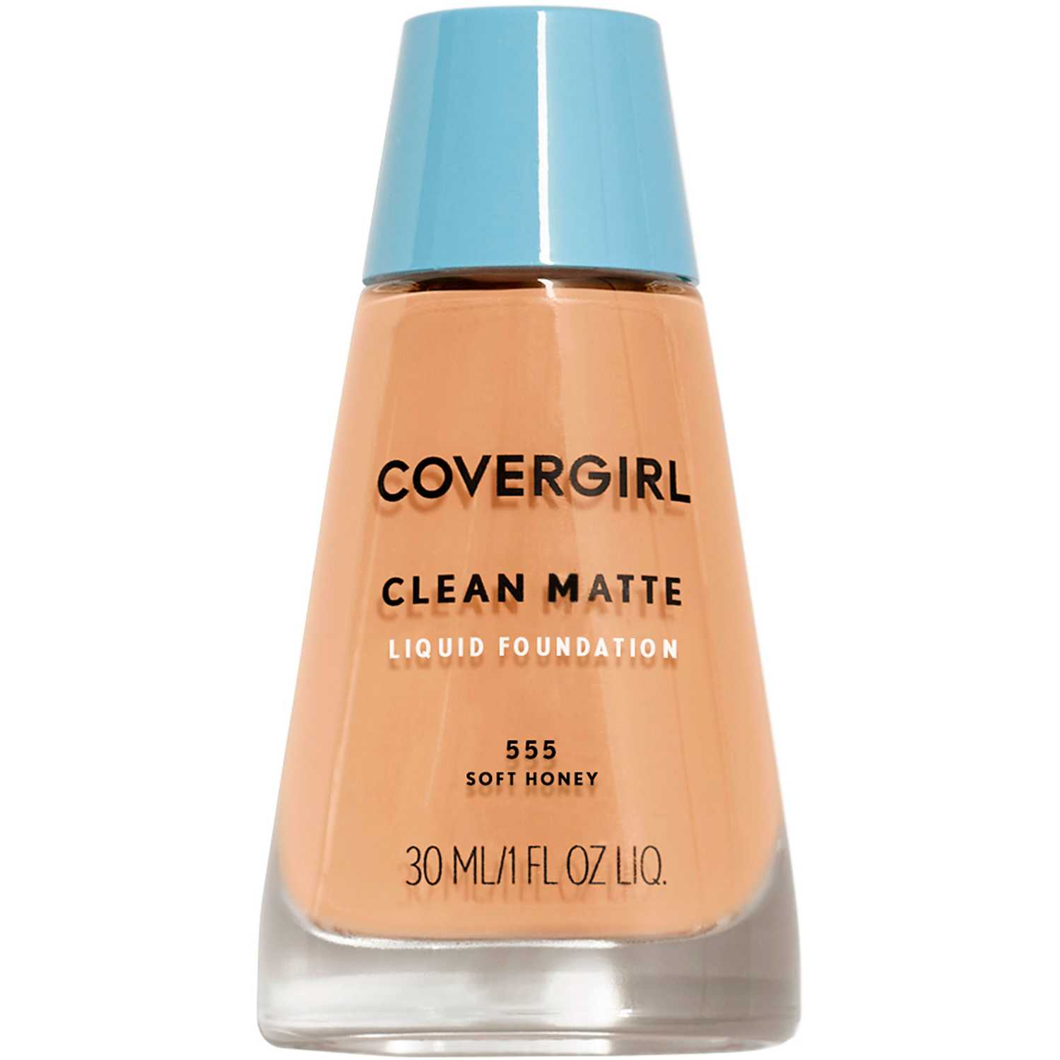Covergirl base clean matte liquid foundation Soft Honey 555
