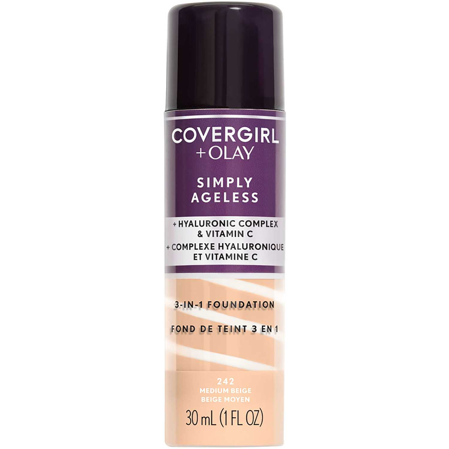 Covergirl Olay Base Simply Ageless 3N1 Medium Beige Fundación