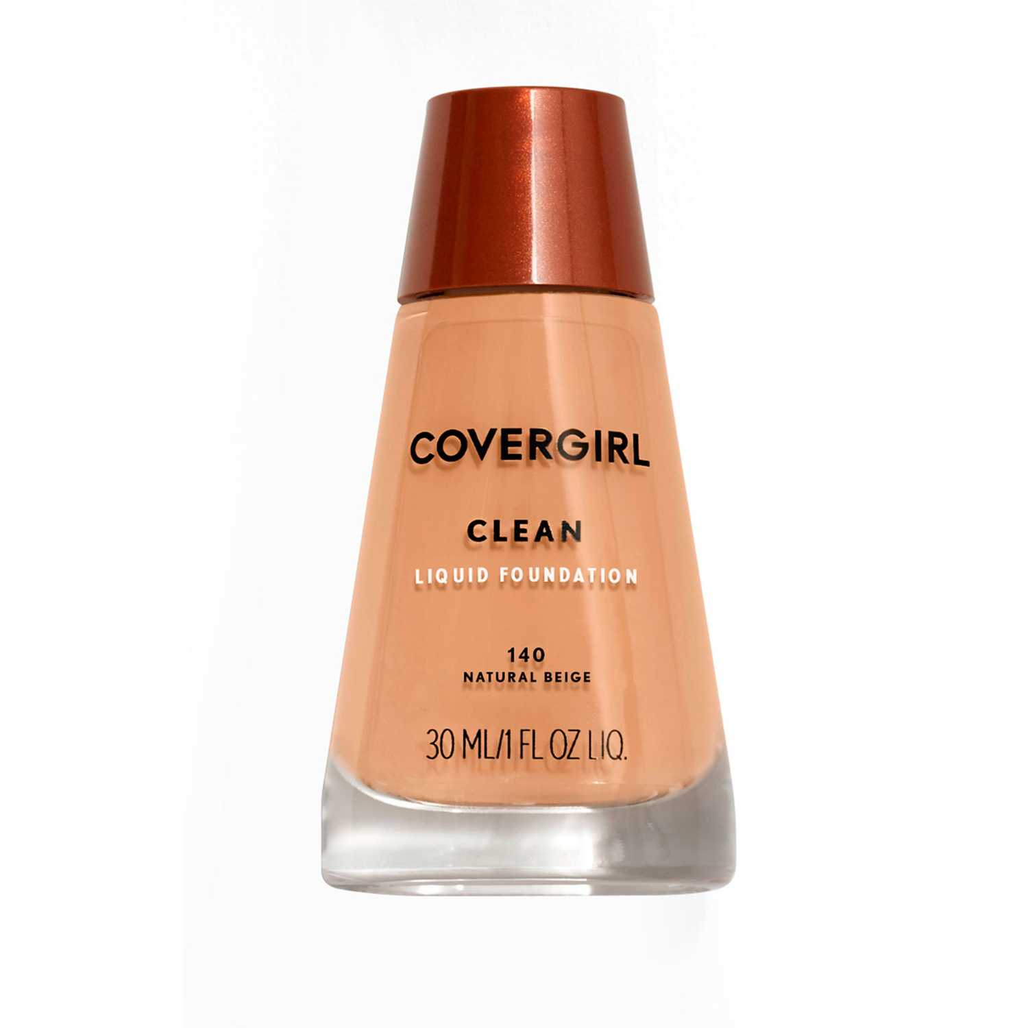 Covergirl base clean liquid make up Natural Beige Fundación