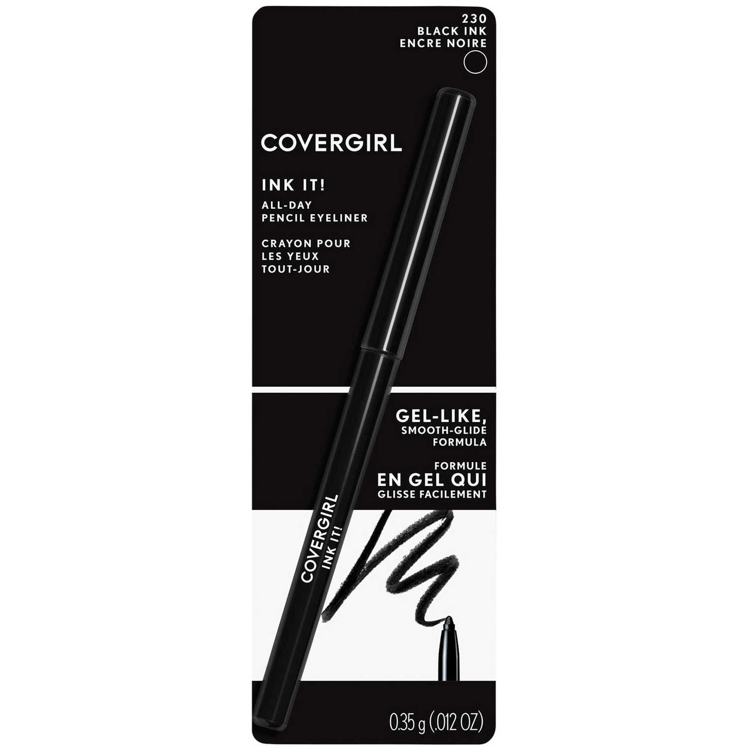 Covergirl delineador ojos ink it Black Ink Delineador y Sombra Combinaciones