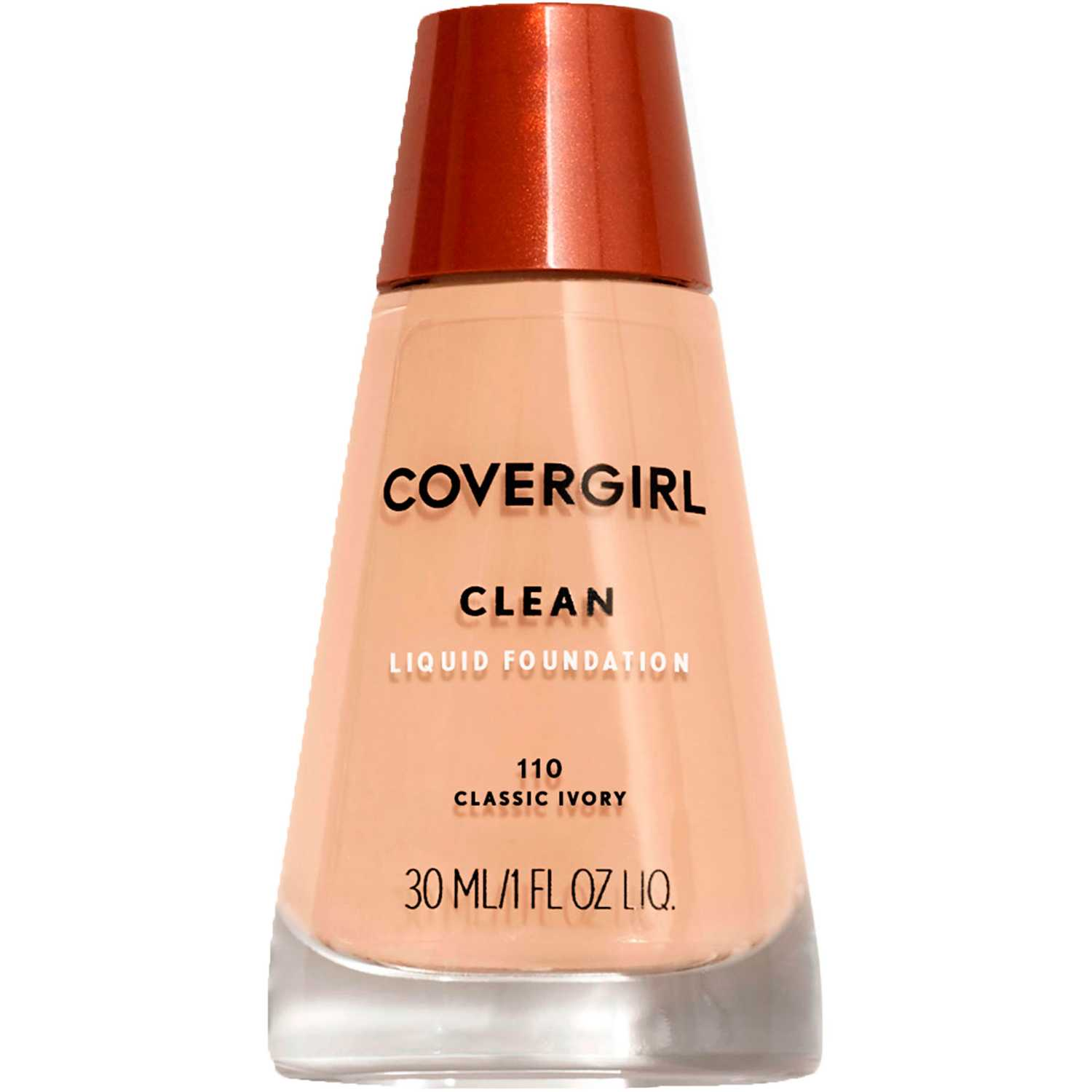 Covergirl Base Clean Liquid Make Up Classic Ivory Bases