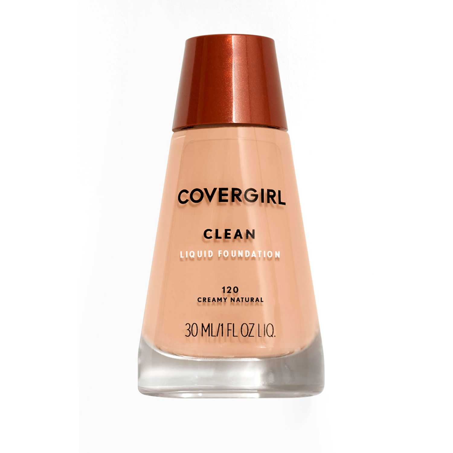 Covergirl base clean liquid make up Creamy Natural Fundación