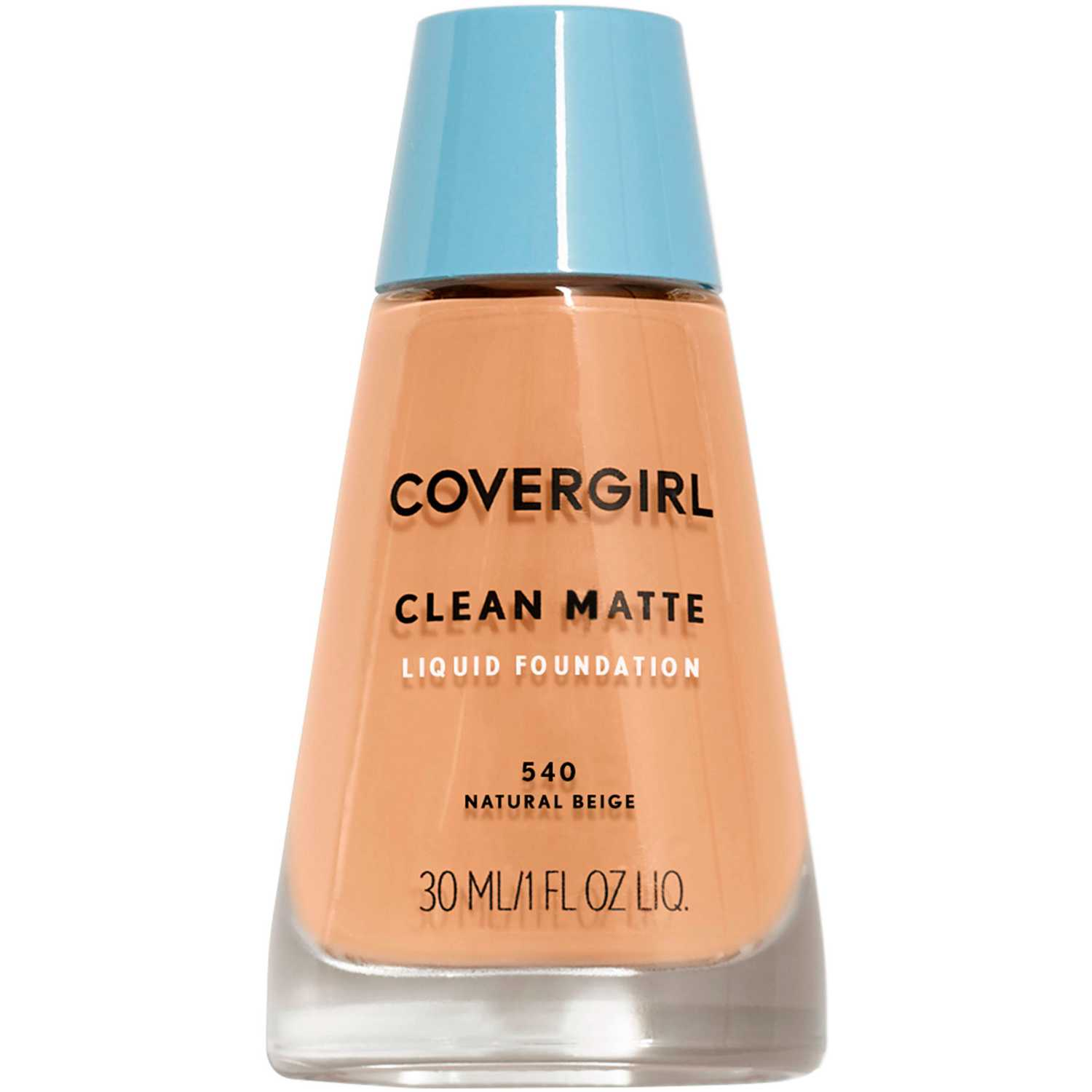 Covergirl Base Clean Matte Liquid Foundation Natural Beige 540 Bases