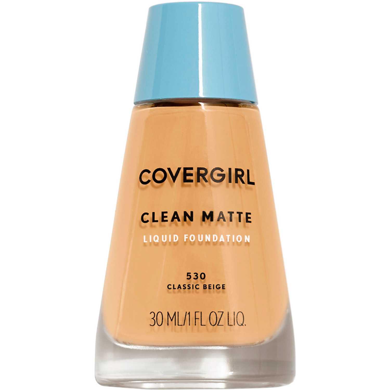 Covergirl base clean matte liquid foundation Classic Beige 530 Fundación